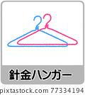 鋼絲衣架的垃圾分離插圖 77334194