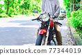 senior, bike, motorbikes 77344019