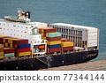 集裝箱 集裝箱碼頭 船隻 77344144