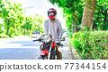 Senior rider's bike life 77344154