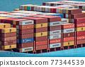 集裝箱 集裝箱碼頭 船隻 77344539