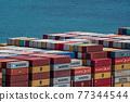 集裝箱 集裝箱碼頭 船隻 77344544