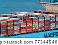 集裝箱 集裝箱碼頭 船隻 77344546