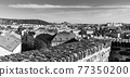 View of Prague Castle from Vysehrad 77350200