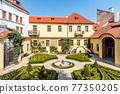 Vrtbovska baroque garden in Prague 77350205
