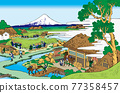 富士山 浮世繪 茶園 77358457