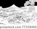 富士山 浮世繪 茶園 77358466
