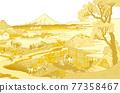 富士山 浮世繪 茶園 77358467