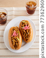 야키소바 빵 77362960