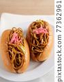 야키소바 빵 77362961
