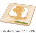 콩가루 떡 과자 77365997