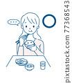 用餐 吃 飲食 77368543