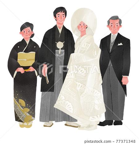 婚禮 結婚 結婚了的 77371348