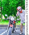senior, bike, motorbikes 77374843