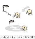 圖標 Icon 樓梯 77377083
