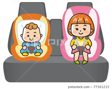 carseat, child safety seat, child seat 77381215