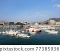 fishing port, bay, harbor 77385936