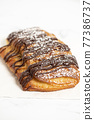 Chocolate Croissant 77386737