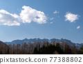 Blue sky of Togakushi 77388802