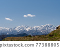 snowy mountain, snowâ€covered mountain, northern alps 77388805
