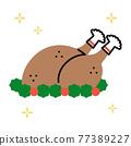 烤雞 雞 雞肉 77389227