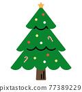 可愛的聖誕樹 77389229