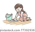 乾淨 清潔 廣泛的 77392936
