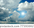 Cloudy sky background 77393002