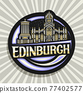 Vector logo for Edinburgh 77402577