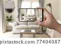 home security system with mobile phone 77404087