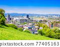 residential area, tokyo, tama city 77405163