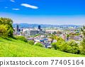residential area, tokyo, tama city 77405164