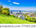 residential area, tokyo, tama city 77405166