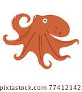 章魚的插圖 77412142