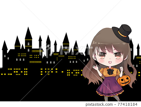 halloween, female, lady 77418184