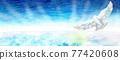 雲彩 雲 鳥兒 77420608