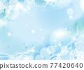飛濺和波浪的圖像背景圖 77420640