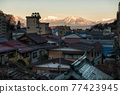 Shibu onsen town and central alps, Nagano 77423945