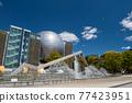fountain at Nagoya science museum, Japan 77423951