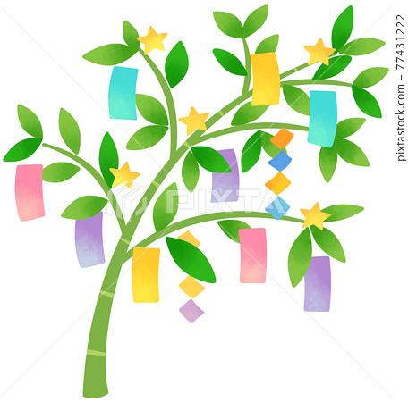 Bamboo decorations 77431222