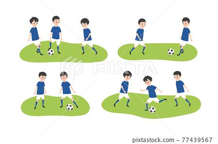 soccer, baby boy, boy 77439567