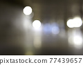 Abstract texture with defocused night lights glow. 77439657