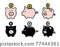 零錢罐 存錢罐 儲蓄 77444361