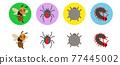昆蟲 害蟲 蟲子 77445002