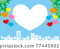 城市風光 城市景觀 市容 77445602
