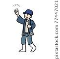 清酒 日本酒 男人 77447021