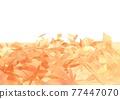 葉子 樹葉 底圖 77447070