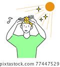 防曬 曬斑 褐色 77447529