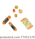 脆米餅 和果子 日本糖果 77452170