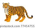 老虎的插圖 77454755